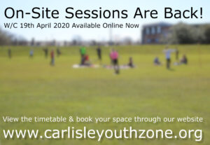 On-Site Sessions Restarting – 19th April