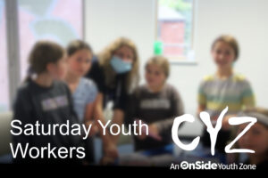 Vacancy: Saturday Youth Workers – September 2021